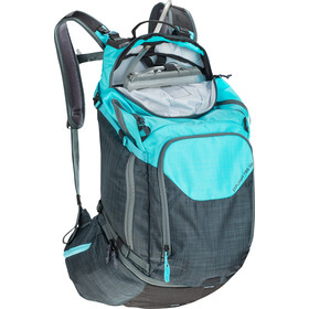 EVOC Explorer Pro Technical Performance Pack 30l heather slate-heather neon blue